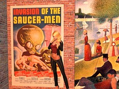 Invasion Of The Saucer-Men (Cherie Langer) Tags: poster movie scifi sf