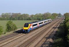 222020 Cossington (CD Sansome) Tags: cossington east midlands trains stagecoach emt train meridian 222 222020 mml midland main line
