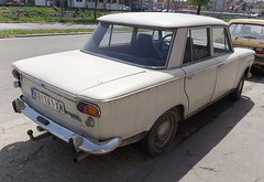 1977 Zastava 1300E (FromKG) Tags: zastava 1300e yugo grey car kragujevac serbia 2019