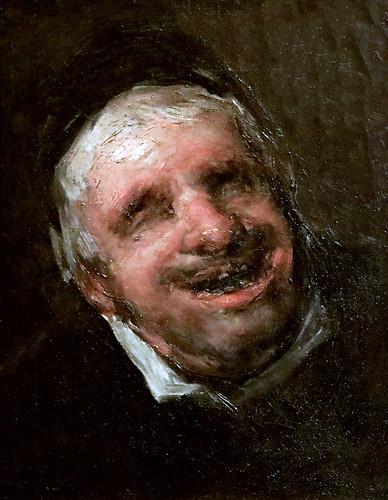 IMG_2084G Francisco de Goya  1746-1828 L'Oncle Paquito  El tio Paquete Uncle Paquito 1820 Madrid  Musée Thyssen Bornemisza
