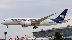 Aeromexico Boeing 787-8 (ianclarke82) Tags: n964am aeromexico 7878 dreamliner boeing boeing787 airport aircraft airline airliners aviationphotography aviation londonheathrow london lhr egll heathrow