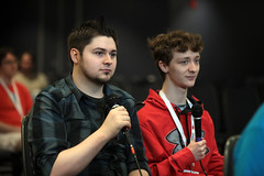Josh Jepson & Nolan (Gage Skidmore) Tags: josh jepson nolan versus expo vsx 2019 chicago ohare hyatt regency illinois