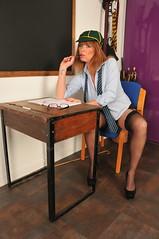 I am struggling with my time tables (sytog123) Tags: milf mature classroom schoolgirl sexy stockings saucy suspenders schooltie short skirt shortskirt slutty sex legs heels highheels high naughty