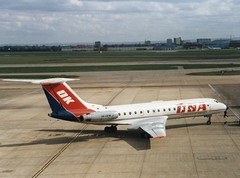 CSA 134 (Gerry Rudman) Tags: csa czech airlines london heathrow tupolev tu134a okhfm