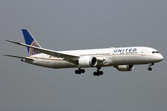 N19951 Boeing 787-9 UAL  LHR (Jetstar31) Tags: n19951 boeing 7879 ual lhr