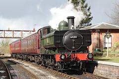 6430 GWR 0-6-0 pannier tank (Roger Wasley) Tags: 6430 gwr 060 panniertank shackerstone station steam locomotive engine heritage preservation leicestershire battlefieldline train railways
