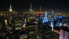 Skyline New York Nacht 1 (markusgeisse) Tags: new york newyork skyline night nacht lichter lights skyscraper usa