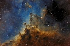 Dust lanes of the Heart Nebula - SHO (Astrolights.de) Tags: heartnebula ic1805 astrophotography astro zwoasi183mmpro