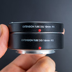 Side view of FOTGA Extension Tubes DG 10mm and 16mm for MFT thumbnail