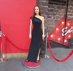 Wax Angelina Jolie sidewalk display Madame Tussauds 7138 (Brechtbug) Tags: wax angelina jolie sidewalk display madame tussauds 42nd street midtown manhattan museum nyc 04252019 new york city 2019 birthday royal uk england brit britain british tussaud s mannequin mannequins dummies dummy