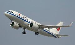 Air China, B-307K, MSN 8929, Airbus A 320-271N, 30.04.2019,  XFW-EDHI, Hamburg Finkenwerder (Delivered 30.04.2019) (henryk.konrad) Tags: airchina b307k msn8929 airbus a320271n 320neo neo xfwedhi hamburgfinkenwerder henrykkonrad