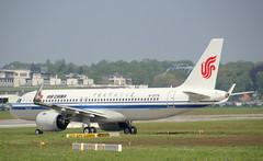 Air China, B-307K, MSN 8929, Airbus A 320-271N, 30.04.2019,  XFW-EDHI, Hamburg Finkenwerder (Delivered 30.04.2019) (henryk.konrad) Tags: airchina b307k msn8929 airbus neo a320271n xfwedhi hamburgfinkenwerder henrykkonrad deliveryflight