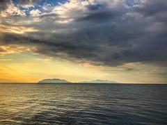 May grey ? (G.Billon) Tags: clouds landscape sunset webelongtothesea seaside seascape cameraphone iphoneography iphone island italia italy italie sicilia milazzo gbillon groupenuagesetciel
