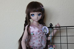Flores... (Ninotpetrificat) Tags: dollfiedream dollfie dd doll ddh10 dollclothes volks mdd muñeca japantoy asiandoll puppe handmade cute kawaii hobby totoro arale toys