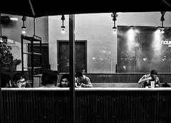 GR (daveson47) Tags: mono monochrome bw blackandwhite contrast night window people candid street sgtreetphoto ricoh ricohgr gr cafe city urban minneapolis