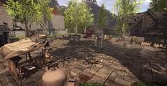HighGarden Market (MadiSLroleplay) Tags: got highgarden game thrones secondlife sl second life roleplay virtual world fantasy tyrell coop medieval