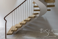 Bisca 6707 feature helical staircase design 05 (Bisca Bespoke Staircases) Tags: 6707 appletreewick bisca biscastaircases centrespine customstairs featurehelicalstaircasedesign featurestairs handmadestairs helicalstaircasedesign housegarden staircasedesign staircasedesigneryorkshire staircasemanufacturer staircasesupplier whitepaintedspine