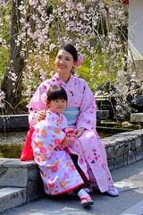 I give you my smile ... (ej - light spectrum) Tags: sakura japan smile lachen people april 2019 kimono kyoto arashiyama spring frühling fujifilm xt2 portrait cherry blossoms 日本 桜