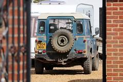 C904 MHH (Nivek.Old.Gold) Tags: 1985 land rover 90 hardtop 2495cc diesel