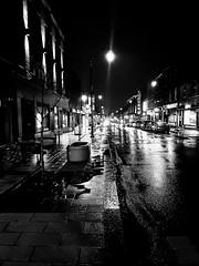 Saint-Henri Nights (Montreal) (MassiveKontent) Tags: street contrast noiretblanc blackwhite blancoynegro montreal sainthenri bw city monochrome urban blackandwhite streetphoto montréal quebec streetphotography bwphotography streetshot android absoluteblackandwhite mono road cars night nightshot cityatnight streetlights