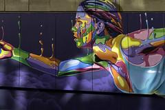 Random Walkabout Graffiti (Michael Laudij) Tags: michaellaudij graffiti color colour urban art spraypaint santiago santiagodechile chile southamerica nikon d850
