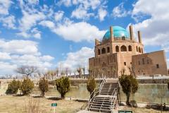Mausolée (hubertguyon) Tags: iran perse persia asie asia moyen orient middle east soltaniyeh mausolée mosoleum oljeitu