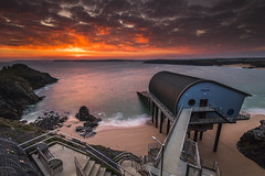 Padstow Lifeboat Station Sunrise (E_W_Photo) Tags: padstowlifeboatstation trevosehead cornwall uk sunrise sea canon 80d sigma 1020mm leefilters