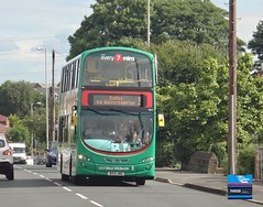 BX13JRO - Wolverhampton Road, Sedgley, June 2014. (Iveco 59-12) Tags: westmidlandstravel travelwestmidlands nationalexpresswestmidlands nxwm volvob5lh wrightbuseclipsegemini bx13jno 5515