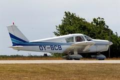 OY-BCB   Piper PA-28-140 Cherokee [28-22942] Stauning~OY 14/06/2008 (raybarber2) Tags: 2822942 airportdata cn2822942 danishcivil ekvj filed flickr oybcb planebase raybarber single