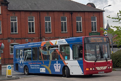 Warrington's Own Buses DK07EZL (Mike McNiven) Tags: warringtonsownbuses warrington networkwarrington wright cadet commander vdlbus leigh busstation interchange disabilitypartnership wigan cheshire lancashire