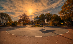 At a crossroads. (Alex-de-Haas) Tags: 11mm adobe aurorahdr aurorahdr2019 blackstone brabant d850 dutch europa europe hdr holland irix irix11mm lightroom nederland nederlands netherlands nikon nikond850 noordbrabant skylum vught autumn beautiful beauty cirrus city cityscape clouds dorp fall herfst landscape landschaft landschap lucht skies sky skyscape stad stadsfotografie straat street suburban sunny town urban village zonnig northbrabant