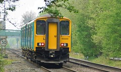 Branch Framed (The Walsall Spotter) Tags: waterorton east junction warwickshire westmidlands railway sprinter dmu class1502 150230 transportforwales wolverton canton pullmans cardiff ecs emptycoachingstock
