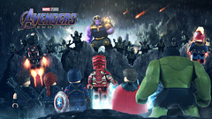Endgame (MGF Customs/Reviews) Tags: lego marvel studios avengers endgame iron man tony stark robert downey jr captain america steve rogers chris evans thor hemsworth black widow natasha romanoff scarlett johansson hawkeye ronin clint barton jeremy renner hulk bruce banner mark ruffalo war machine james rhodes don cheadle carol danvers brie larson thanos josh brolin infinity stones custom figure minifigure