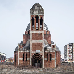 The unfinished Church of Christ the Saviour. (Stefano Perego Photography) Tags: stepegphotography stefano perego building modern architecture design balkans