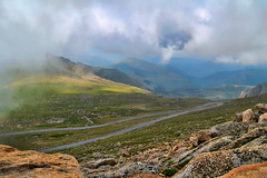 The Winding Road to the summit of Mount Evans Colorado (Gail K E) Tags: colorado mountevans fourteener rockymountains denver alpinetundra usanationalparks usa