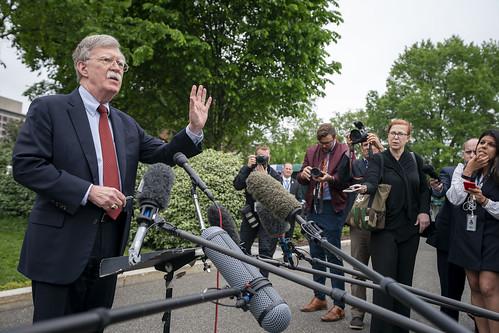John Bolton Speaks to Press