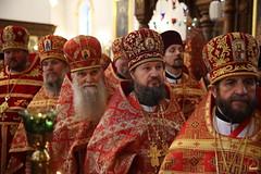 153. Божественная литургия в Успенском соборе 01.05.2019