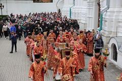 103. Божественная литургия в Успенском соборе 01.05.2019