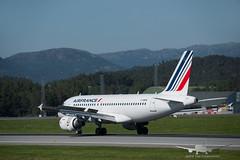 Air France - F-GRHS - A319-100 (Aviation & Maritime) Tags: fgrhs airfrance airbus a319 a319100 airbus319100 airbus319 bgo enbr bergenairportflesland bergenlufthavnflesland bergen flesland norway