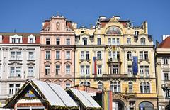 Easter Market Stalls / Prague Historic Centre (littlestschnauzer) Tags: prague historic centre market stalls easter 2019 architecture historical beautiful buildings visit tourist destination city czech