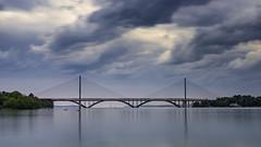 2 ponts / 2 bridges (ludob2011) Tags: brest plougastel iroise ponts louppe bridges sea finistere pennarbed bretagne brittany sony a7ii pentax smc prime