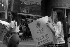 Back to School (Spotmatix) Tags: belgium brussels camera effects k3 monochrome pentax places street streetphotography