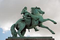 Absalon Statue (stephengg) Tags: denmark copenhagen green bronze statue absalon axel horse axe bishop roskilde højbro plads