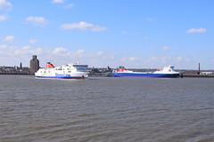 Liverpool (DarloRich2009) Tags: msstenaforecaster stenaforecaster mersey merseyside rivermersey liverpool cityofliverpool msstenamersey stenamersey stenaline