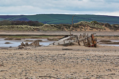 Old Wreck (Mark Wasteney) Tags: wreck shipwreck boat seaside beach decay westcountry northdevon crowpoint
