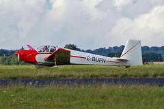 G-BUFN   Slingsby T.61F Venture [1967] Kemble~G 18/08/2006 (raybarber2) Tags: 1967 airportdata cn1967 egbp filed flickr gbufn motorglider planebase raybarber ukcivil