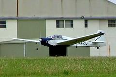 G-AYZU   Slingsby T.61A Falke [1740] Kemble~G 01/07/2005 (raybarber2) Tags: 1740 airportdata egbp filed flickr gayzu motorglider planebase raybarber ukcivil
