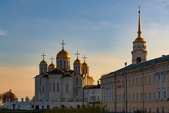 Dormition Cathedral (gubanov77) Tags: dormitioncathedral vladimir cathedral goldenhour church russia architecture city sunset building cityscape goldenringofrussia travel travelphotography