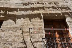 shadows on the wall (Hayashina) Tags: shadow laundery window wall alghero italy sardegna sundaylights