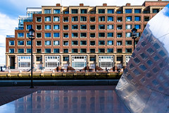 Boston Waterfront Building and Reflections (pa_cosgrove) Tags: boston waterfront buildings cityscape architecture art reflections colors fuji fujifilm xt30 patterns